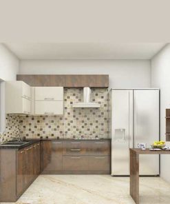 Fridge Kitchen Cabinet in Lagos Nigeria | Mcgankons Furniture Store