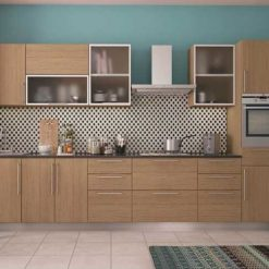 Frosted Glass Kitchen Cabinet in Lagos Nigeria | Mcgankons Furniture Store