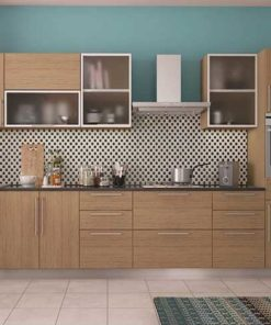 Frosted Glass Kitchen Cabinet in Lagos Nigeria   Mcgankons Furniture Store
