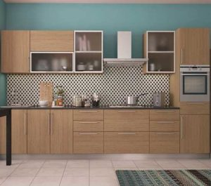 Frosted Glass Kitchen Cabinet
