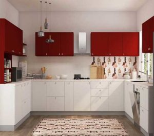 HDF Kitchen Cabinet