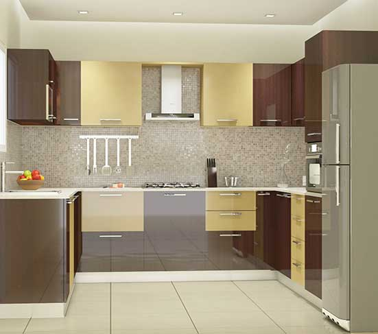 High Gloss Kitchen Cabinet in Lagos Nigeria | Mcgankons Furniture Store