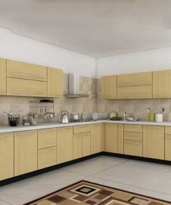 L Shaped Kitchen Cabinet in Lagos Nigeria | Mcgankons Furniture Store