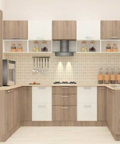 U Shaped Kitchen Cabinet in Lagos Nigeria | Mcgankons Furniture Store