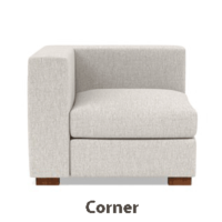 Left-Right Corner Modular Sofa 2