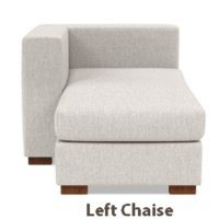 Left Chaise Modular Sofa 1