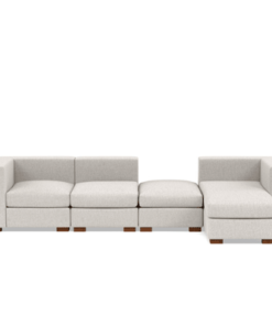 Chaise Modular Sofa with Ottoman in Lagos Nigeria |
