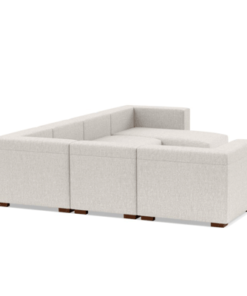Modular Sofa with Chaise in Lagos Nigeria | back