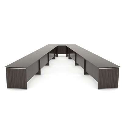 Long V Shaped Conference Table in Lagos Nigeria