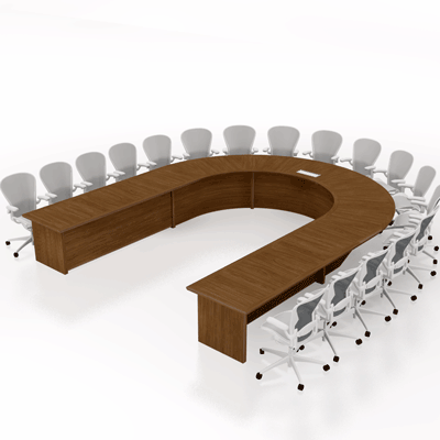 U Shaped Conference Table in Lagos Nigeria